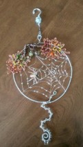 Creative diy halloween decorations using spider web 17