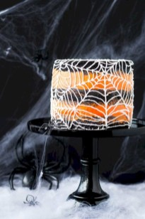 Creative diy halloween decorations using spider web 24