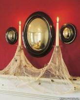 Creative diy halloween decorations using spider web 28