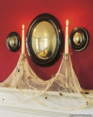 Creative diy halloween decorations using spider web 28