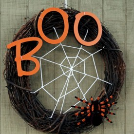 Creative diy halloween decorations using spider web 39