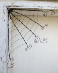 Creative diy halloween decorations using spider web 44