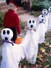 Creative diy halloween outdoor decoration ideas 21