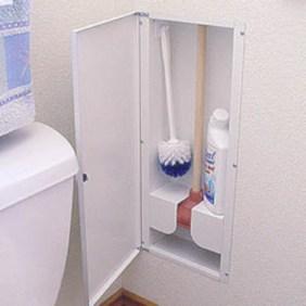 Creative storage bathroom ideas for space saving (13)