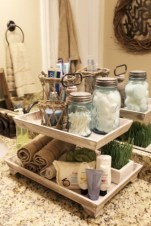 Creative storage bathroom ideas for space saving (17)
