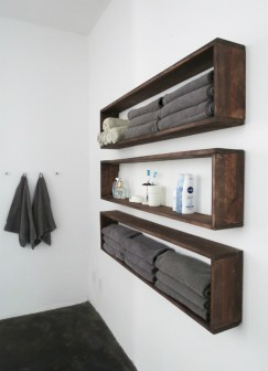 Creative storage bathroom ideas for space saving (33)