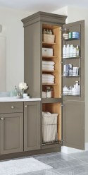 Creative storage bathroom ideas for space saving (35)