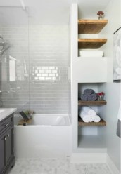 Creative storage bathroom ideas for space saving (37)