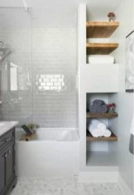 Creative storage bathroom ideas for space saving (37)
