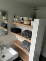Creative storage bathroom ideas for space saving (49)