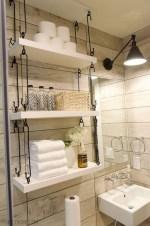 Creative storage bathroom ideas for space saving (55)