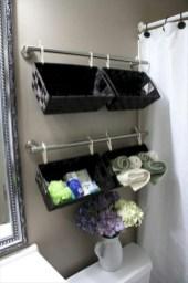 Creative storage bathroom ideas for space saving (9)