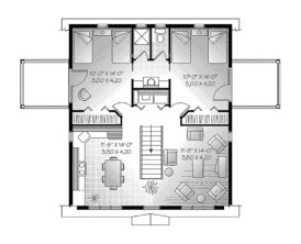 Creative two bedroom apartment plans ideas 12