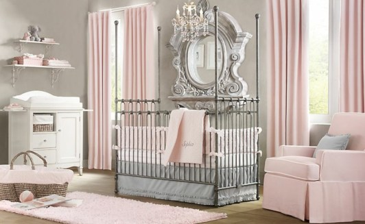 Cute baby girl bedroom decoration ideas 02