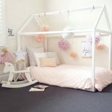 Cute baby girl bedroom decoration ideas 12