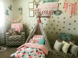 Cute baby girl bedroom decoration ideas 17