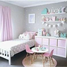 Cute baby girl bedroom decoration ideas 20
