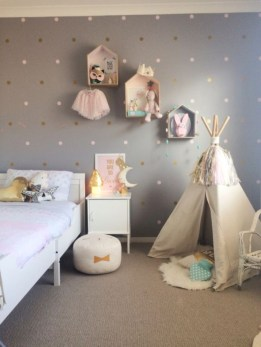 Cute baby girl bedroom decoration ideas 29