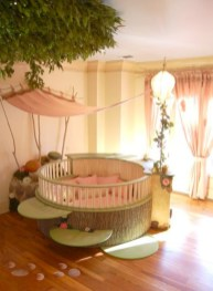 Cute baby girl bedroom decoration ideas 31