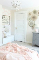 Cute baby girl bedroom decoration ideas 45