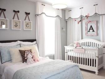 Cute baby girl bedroom decoration ideas 52