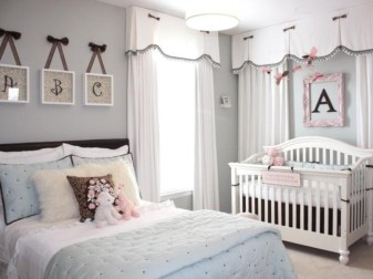 Cute baby girl bedroom decoration ideas 52