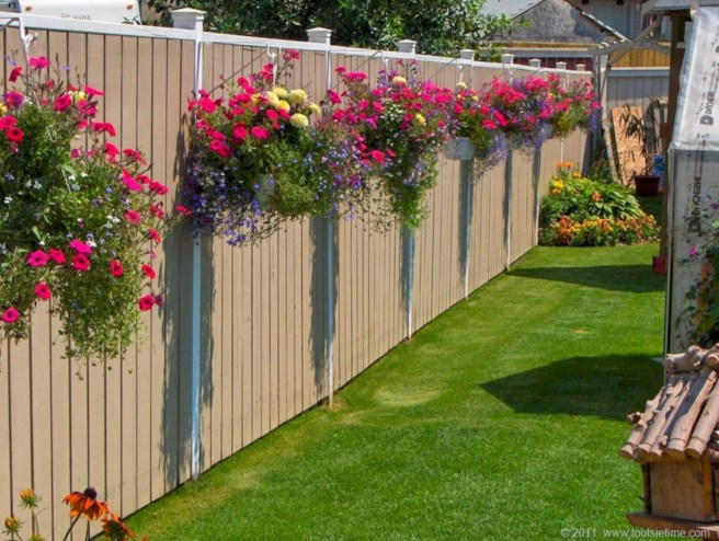 Diy backyard privacy fence ideas on a budget (16)