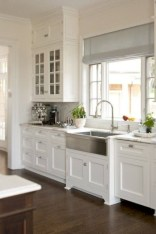 Decorate awesome kitchen with farmhouse cabinet (36)
