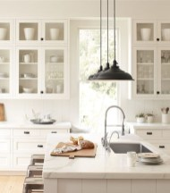 Decorate awesome kitchen with farmhouse cabinet (55)