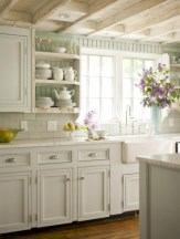 Decorate awesome kitchen with farmhouse cabinet (56)