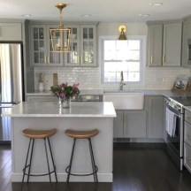 Decorate awesome kitchen with farmhouse cabinet (58)
