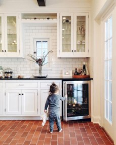 Decorate awesome kitchen with farmhouse cabinet (59)