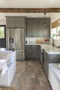 Decorate awesome kitchen with farmhouse cabinet (64)
