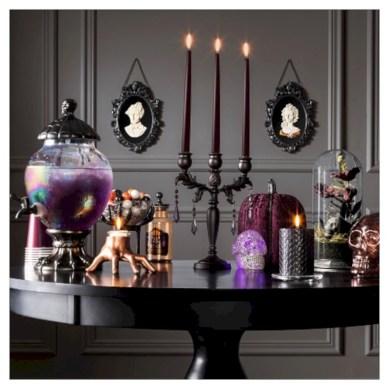 Elegant halloween living room decoration ideas 13