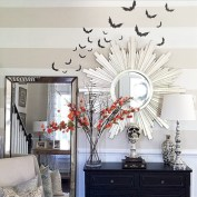 Elegant halloween living room decoration ideas 42