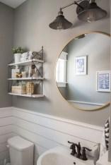 Farmhouse bathroom ideas for small space (21)