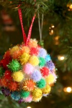 Fun and cute colorful christmas decoration ideas 38