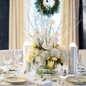 Gorgeous rustic christmas table settings ideas 15 15