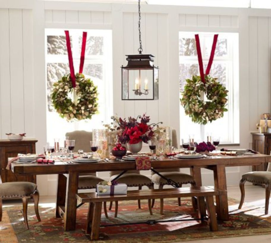Christmas Table Settings Ideas Pictures.54 Gorgeous Rustic Christmas Table Settings Ideas Roundecor
