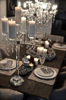 Gorgeous rustic christmas table settings ideas 23 23