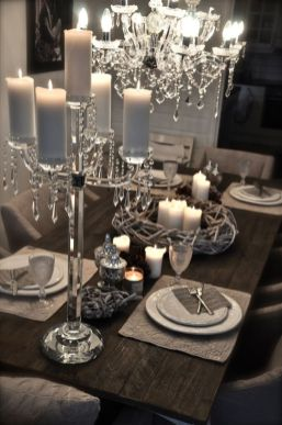 Gorgeous rustic christmas table settings ideas 23 23