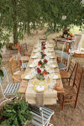 Gorgeous rustic christmas table settings ideas 30 30