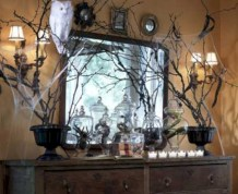 Great halloween mantel decorating ideas 03