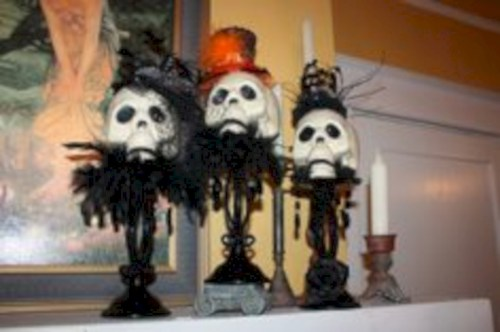 Great halloween mantel decorating ideas 10