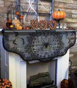 Great halloween mantel decorating ideas 12