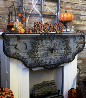 Great halloween mantel decorating ideas 12
