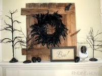 Great halloween mantel decorating ideas 13