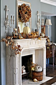 Great halloween mantel decorating ideas 15