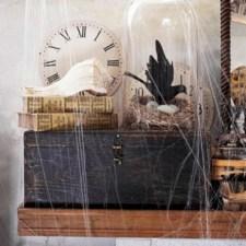 Great halloween mantel decorating ideas 26