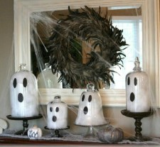 Great halloween mantel decorating ideas 28